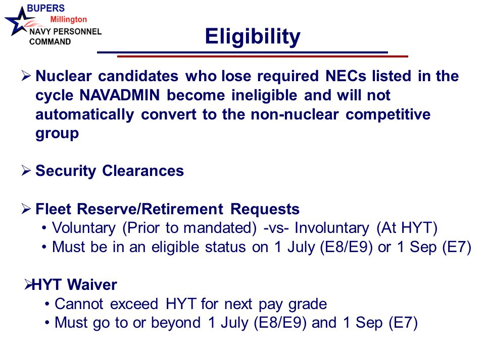 Navy Personnel Command Enlisted Selection Boards Pers 803 Ppt