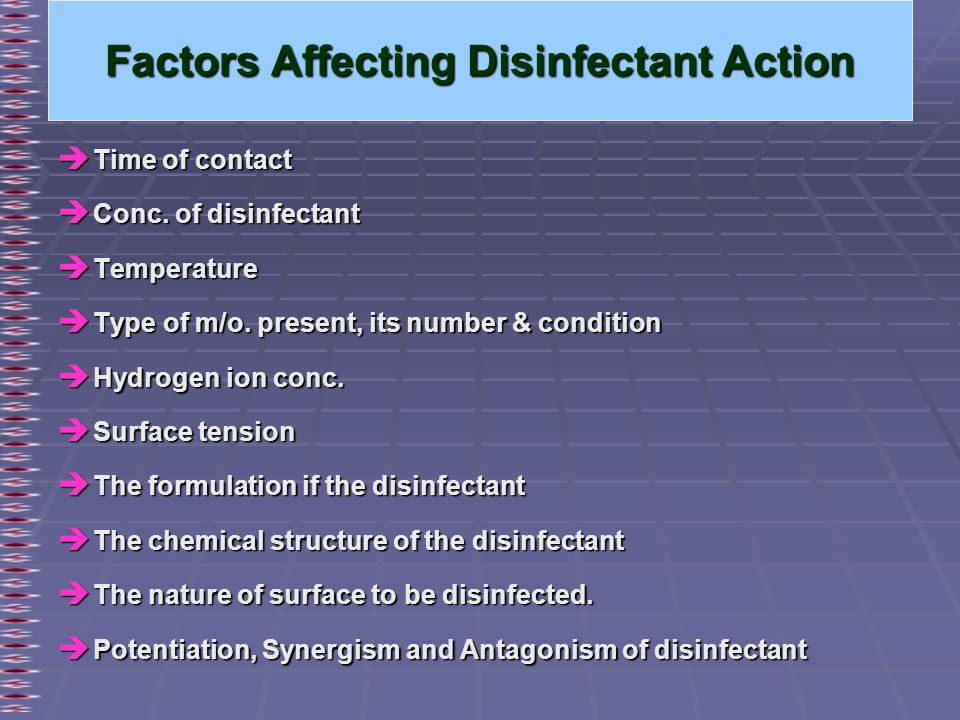 CHAPTER – IV DISINFECTION  - ppt video online download