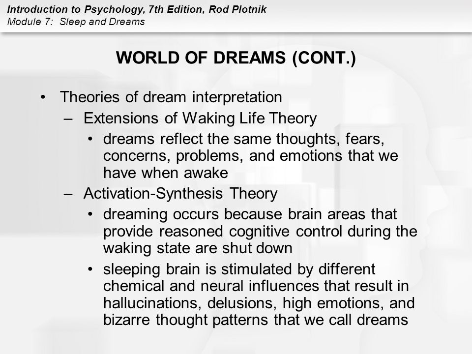 Theories Of Dream Interpretation