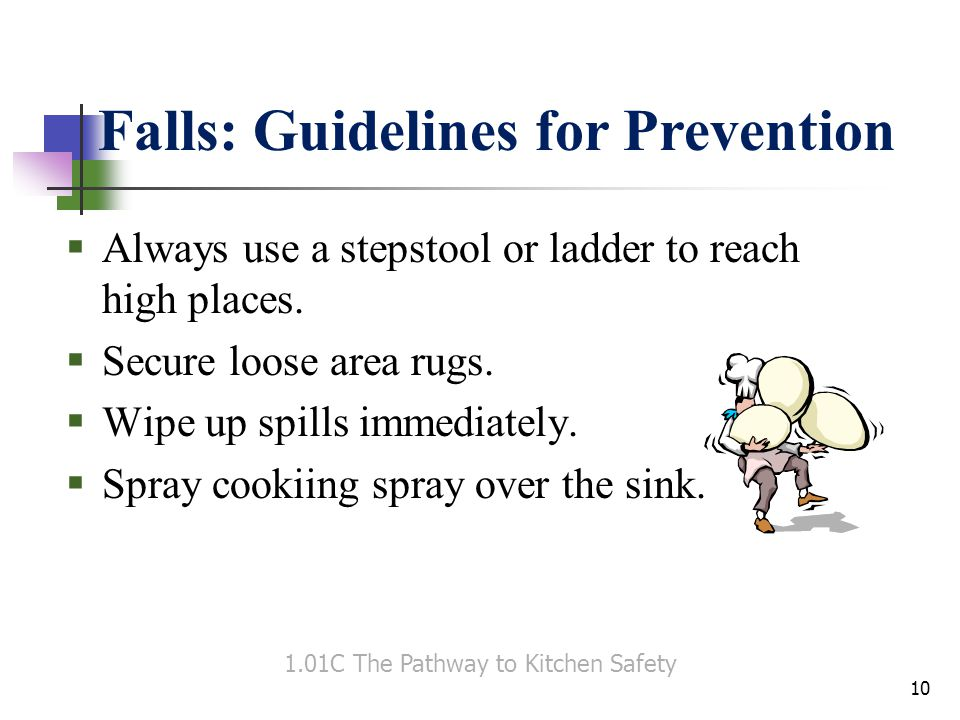 1.01C The Pathway to Kitchen Safety