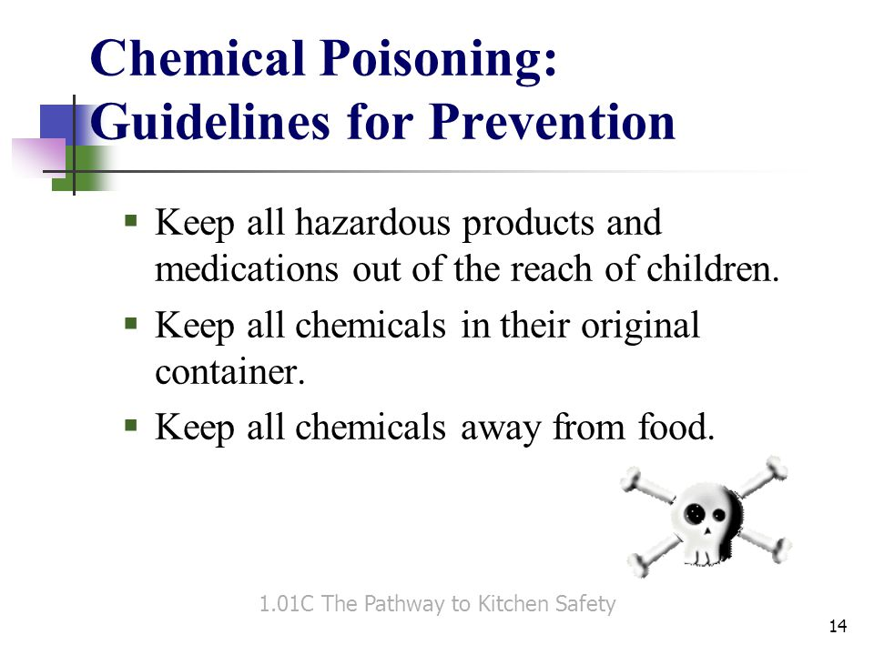 Chemical Poisoning: Guidelines for Prevention