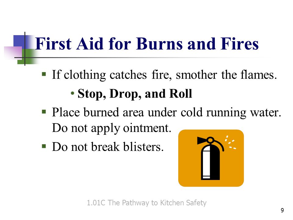 First Aid for Burns and Fires