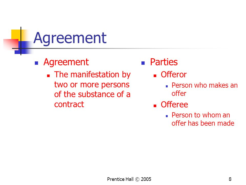 Chapter 10 Formation Of Traditional And Online Contracts Ppt Download