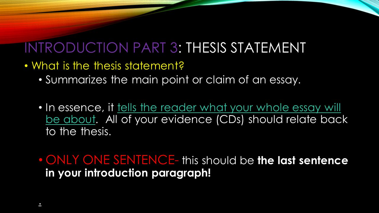 3 part thesis Chapter 3: quantitative master's thesis section 33: quantitative thesis chapters subsection 331 model i: sequential chapter structure preliminary pages: examples of items: dedication:  as part of the purpose of the study, there should be justification for conducting the project this section should exhibit a clear understanding of what.