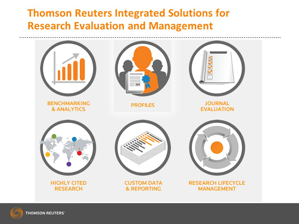 Thomson Reuters Converis: Our Vision for Research Management