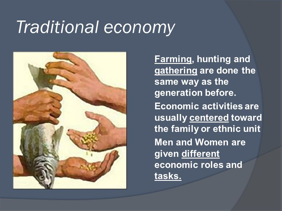 hunting and gathering economy