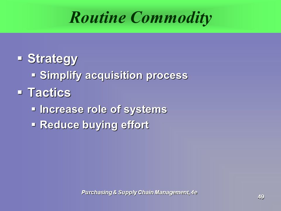 role of purchasing in supply chain management pdf