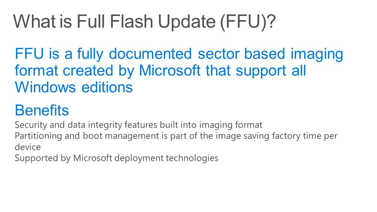 Ffu Flash Tool