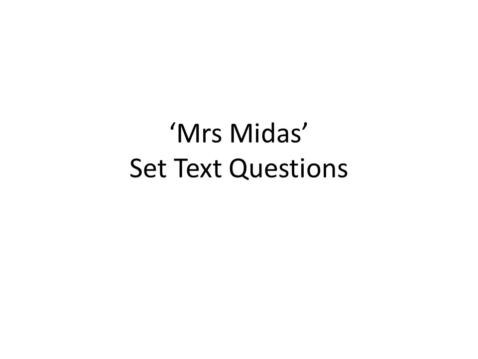 mrs midas duffy Get youtube without the ads  mrs midas annotated stonelaw high english loading unsubscribe from stonelaw high english cancel  king midas and the golden touch subtitles.