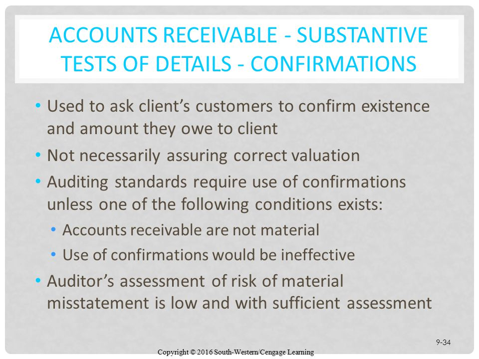 Auditing the Revenue Cycle - ppt download