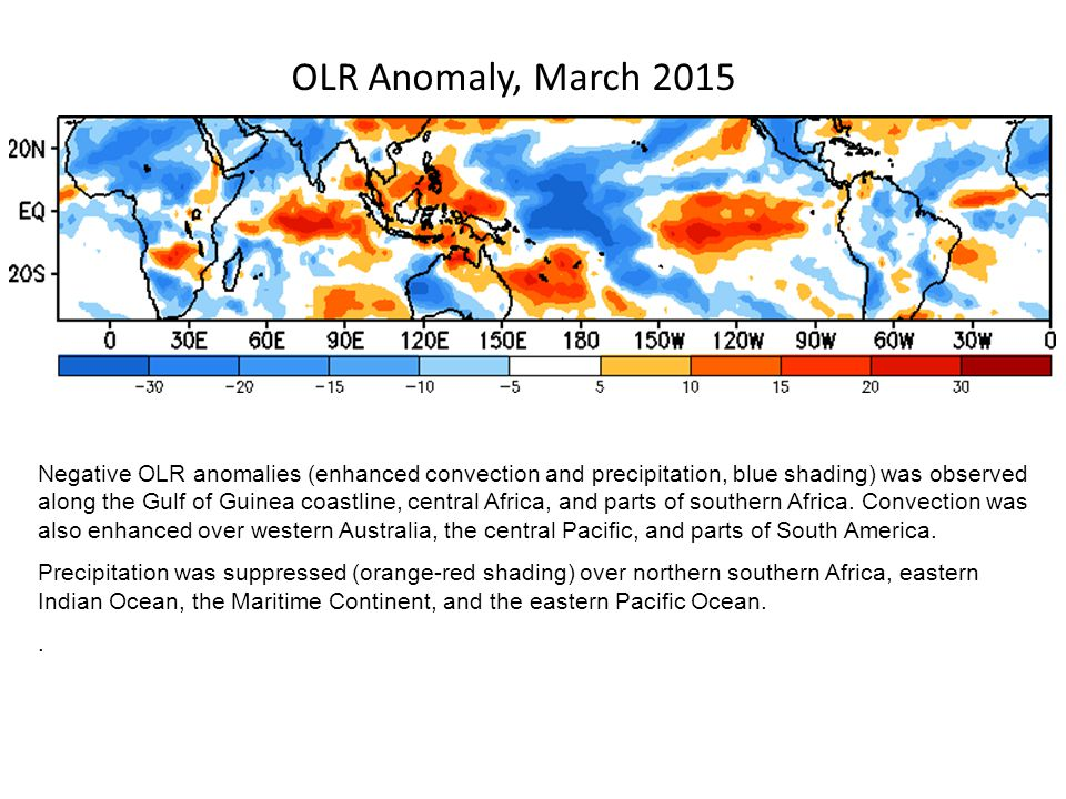 OLR Anomaly, March 2015