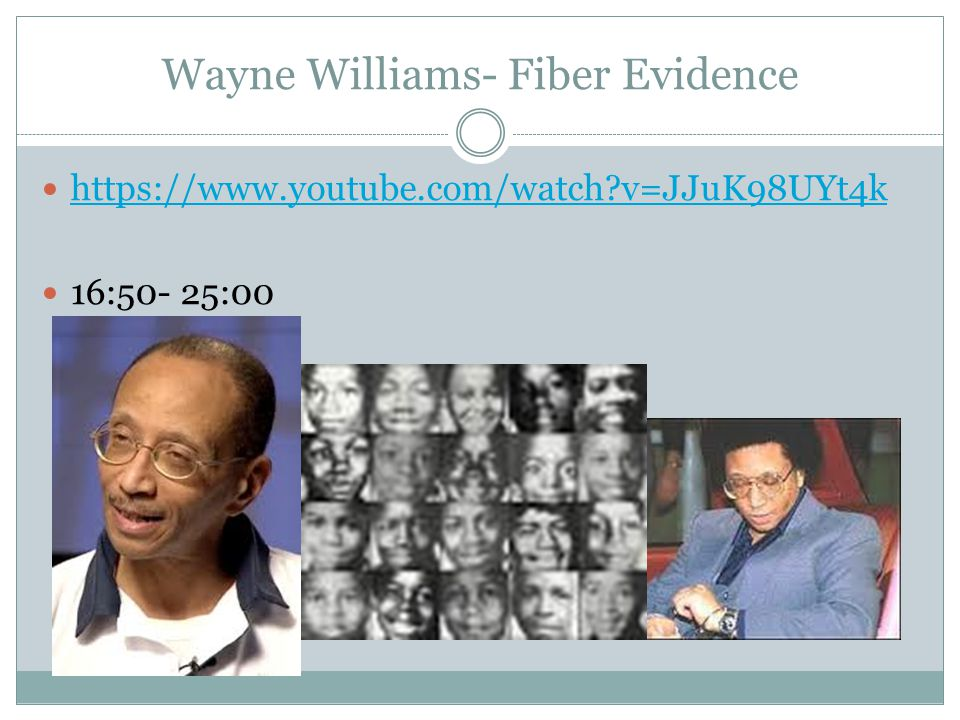 fiber evidence and the wayne williams trial