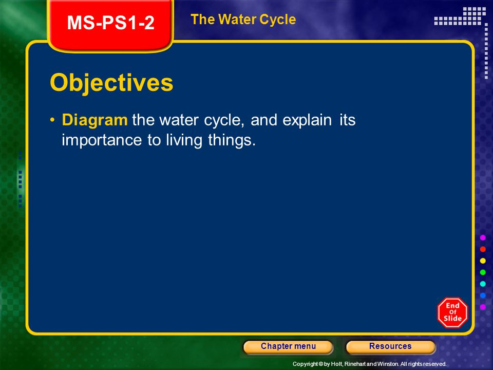 Chapter e2 section 1 the cycles of matter do now ppt video online and explain its importance to living things ms ps1 2 the water cycle objectives ccuart Choice Image