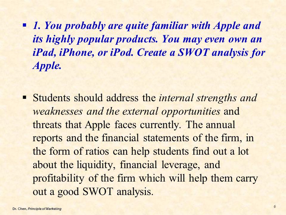 iphone 7 swot analysis