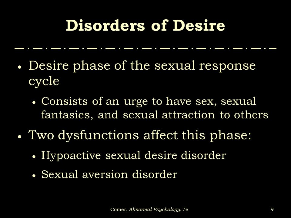 Hypoactive sexual desire disorder refers to