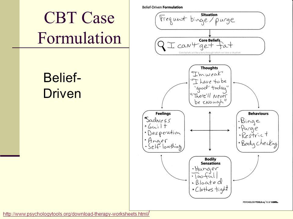 64 Cbt: Cbt E Worksheets At Alzheimers-prions.com