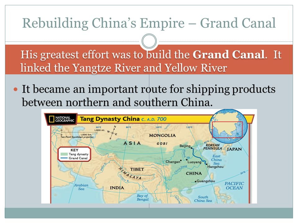 Rebuilding China's Empire – Grand Canal