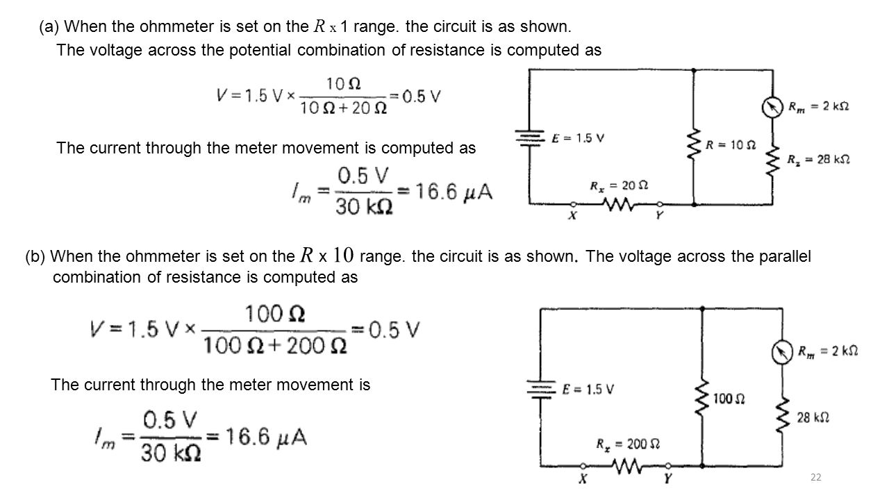 Voltmeter Loading Effects Ppt Video Online Download Interactive Voltage Divider Calculator Conceptselectronicscom 22 A