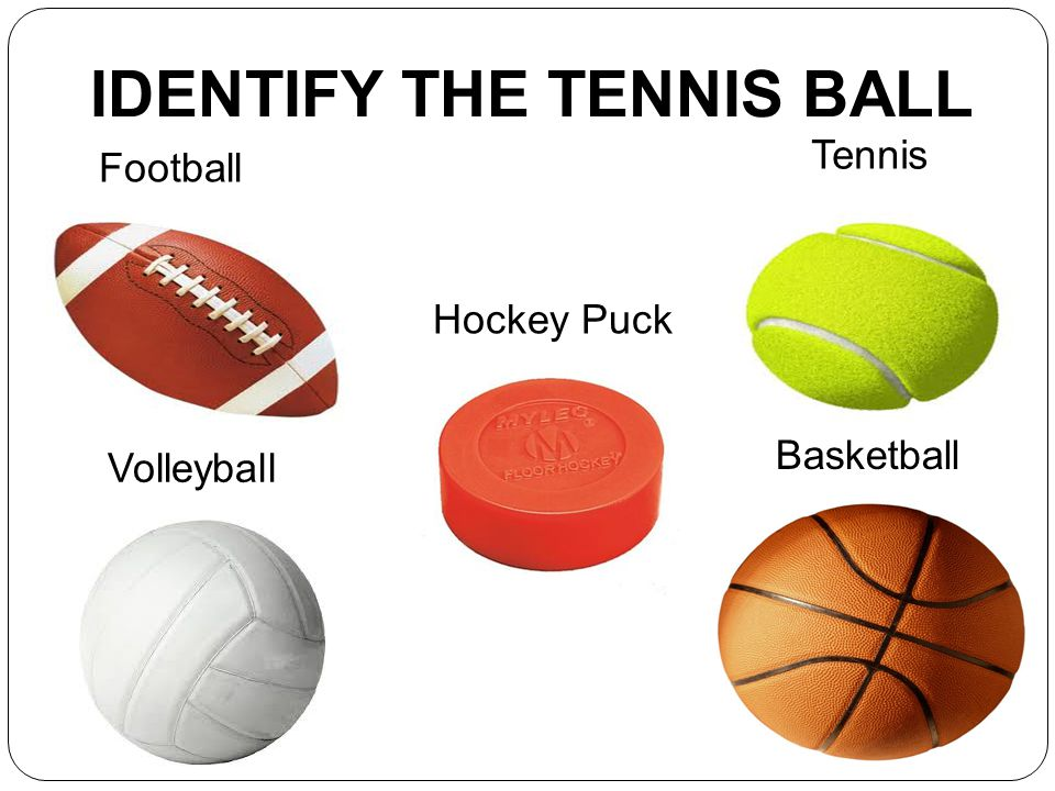 IDENTIFY THE TENNIS BALL