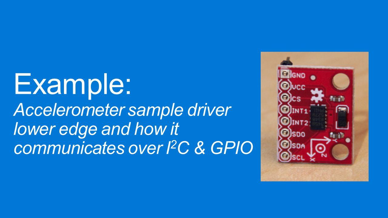 Sample I2c Driver