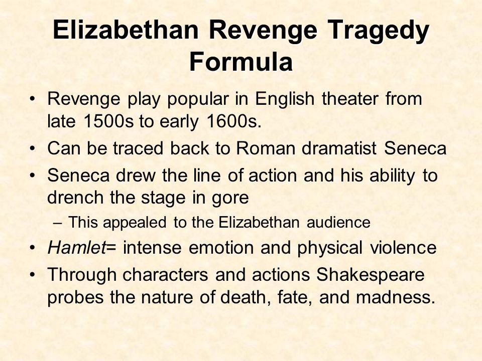 revenge tragedy in english literature