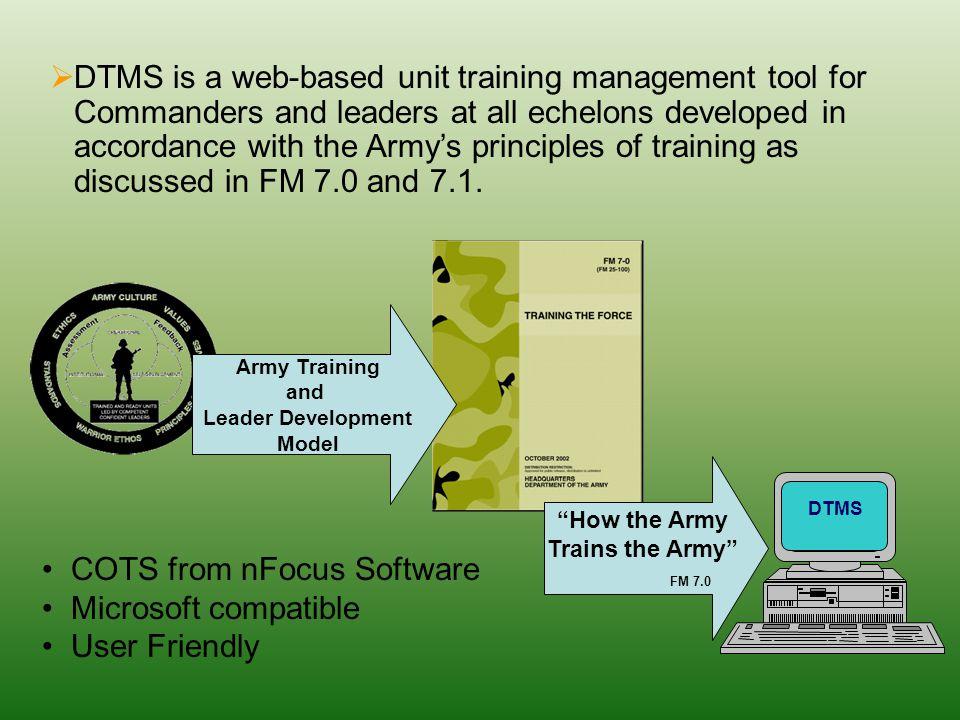 digital training management system dtms ppt video online download rh slideplayer com Army Dtms Logo army dtms user manual pdf