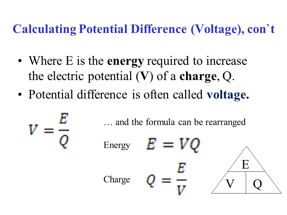37 Calculating Potential Difference