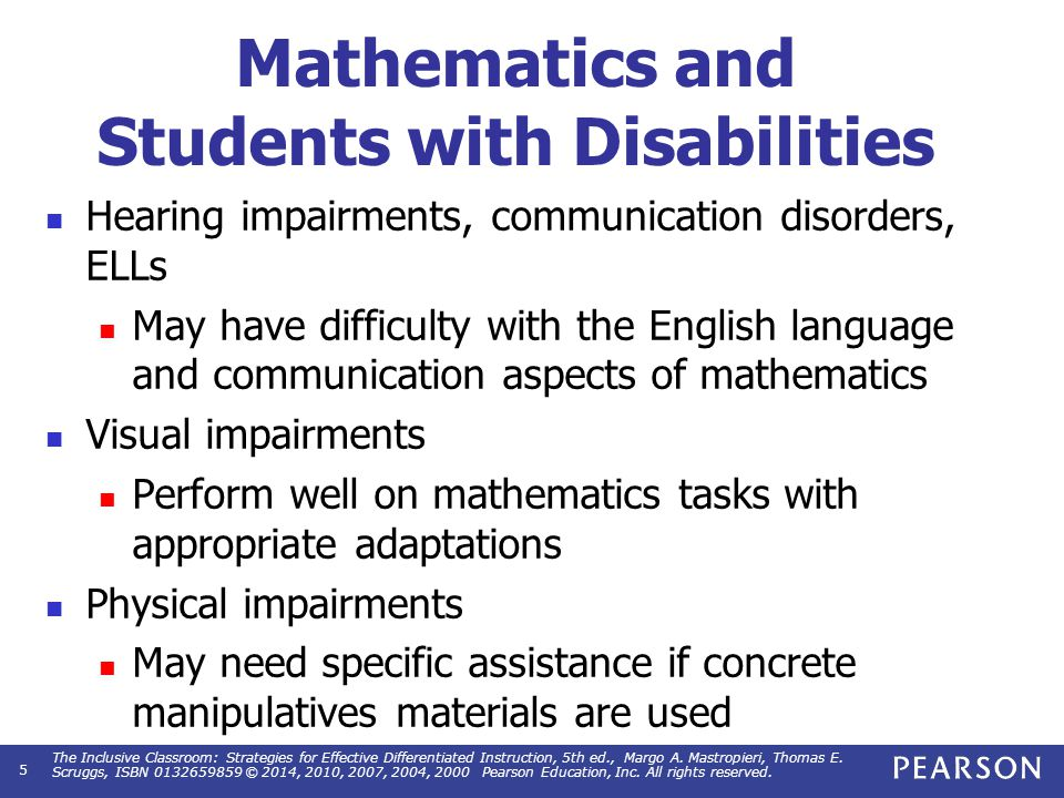 Differentiated Instruction In Teaching Math Today Manual Guide