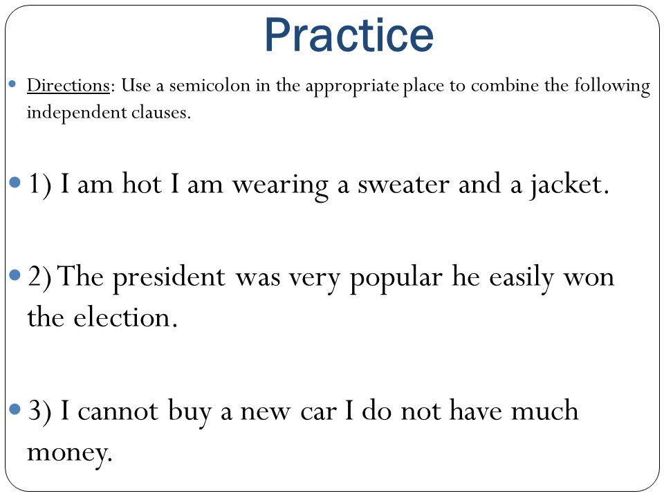 Mini Lesson Semicolons Ppt Video Online Download