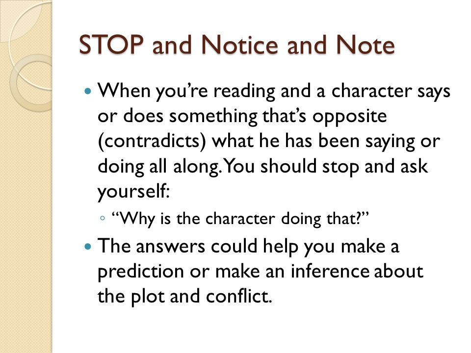 STOP and Notice and Note