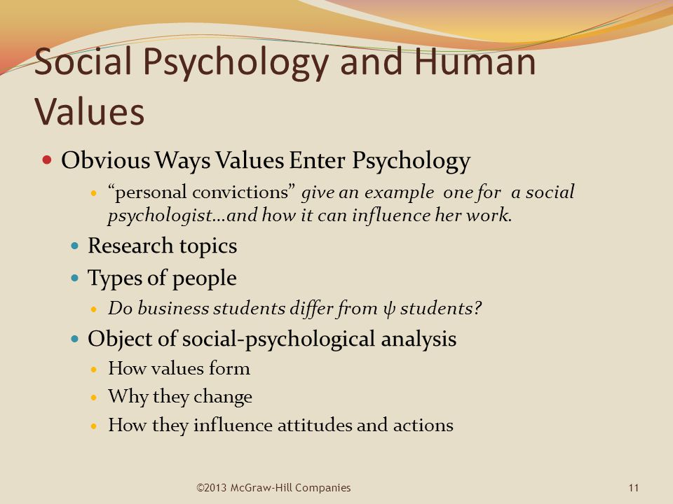 possible research topics in psychology