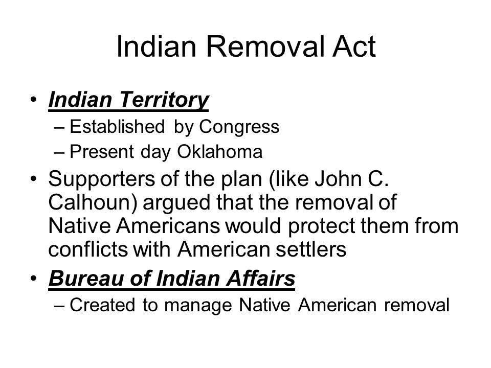 the effects of removal of american The removal of american indian tribes from lands east of the mississippi river to what is now the state of oklahoma is one of the tragic episodes in american history early treaties signed by american agents and representatives of indian tribes guaranteed peace and the integrity of indian territories.