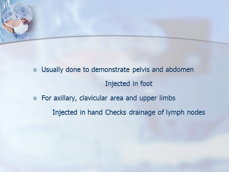 Lymphography By Dr Dina Metwaly Ppt Video Online Download