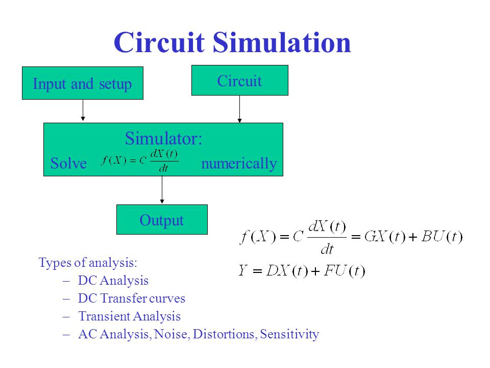 CSE245: Computer-Aided Circuit Simulation and Verification - ppt
