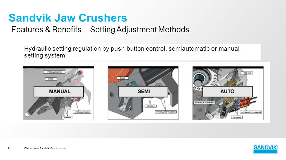 sandvik construction module 3 cj jaw crushers ppt video online rh slideplayer com Operation Manual Cover Operation Manual Cover
