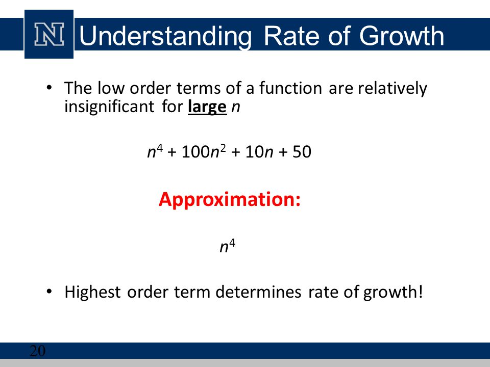 Understanding Rate of Growth