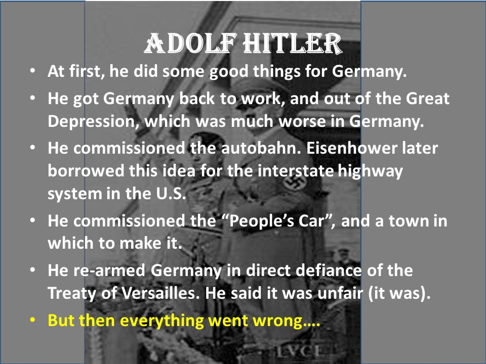 He killed six million people. - ppt download