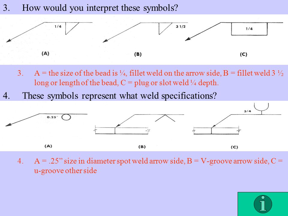Welding Symbols Ch Ppt Video Online Download