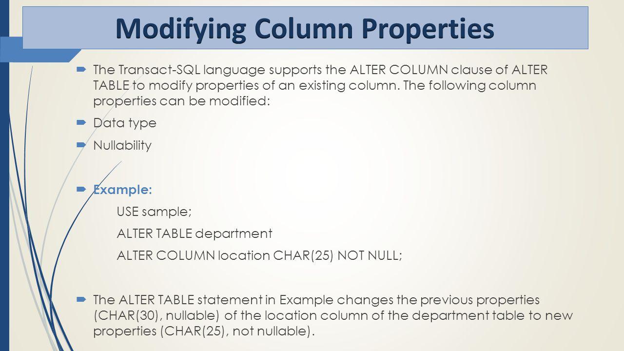 SQL server Section 4&5. - ppt download