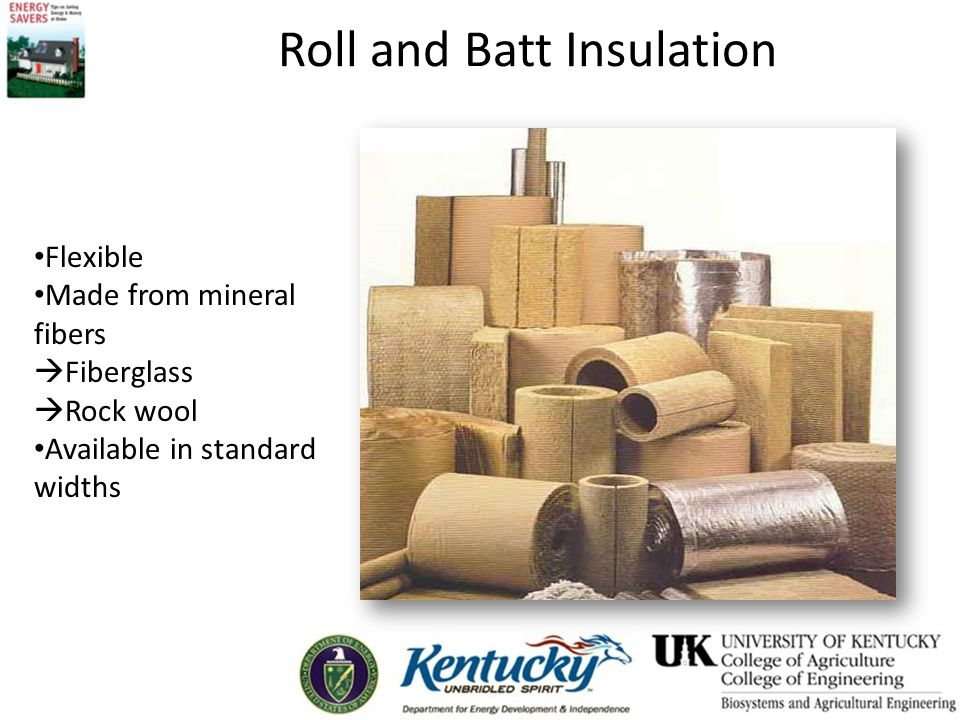 Roll and Batt Insulation