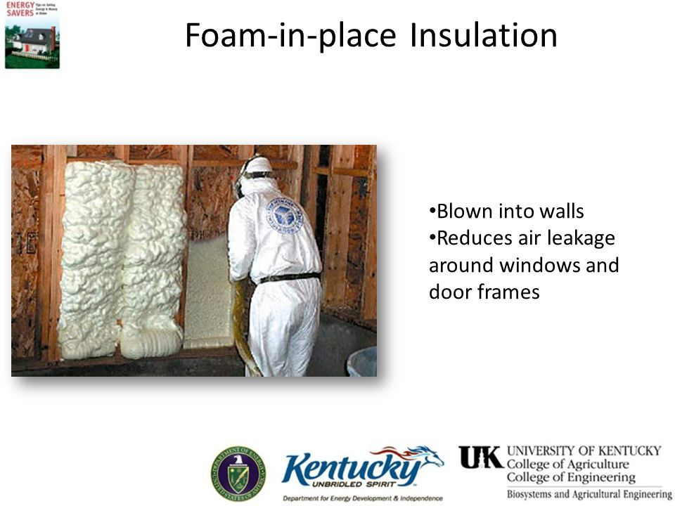 Foam-in-place Insulation