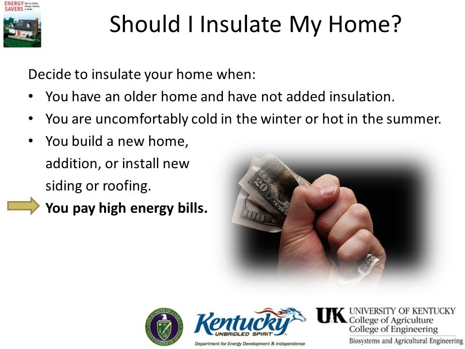 Should I Insulate My Home