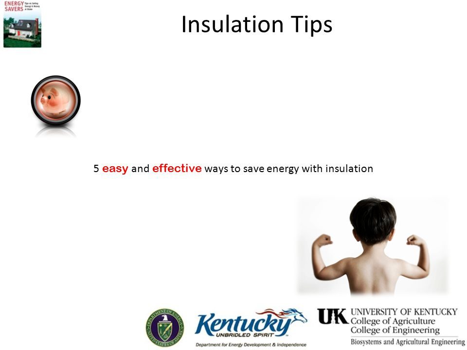 5 easy and effective ways to save energy with insulation