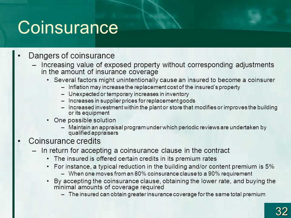 Insurance As A Risk Management Technique Policy Provisions Chapter