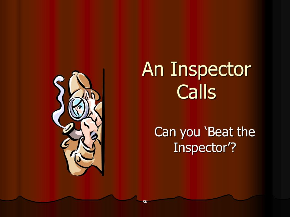 Can you 'Beat the Inspector'