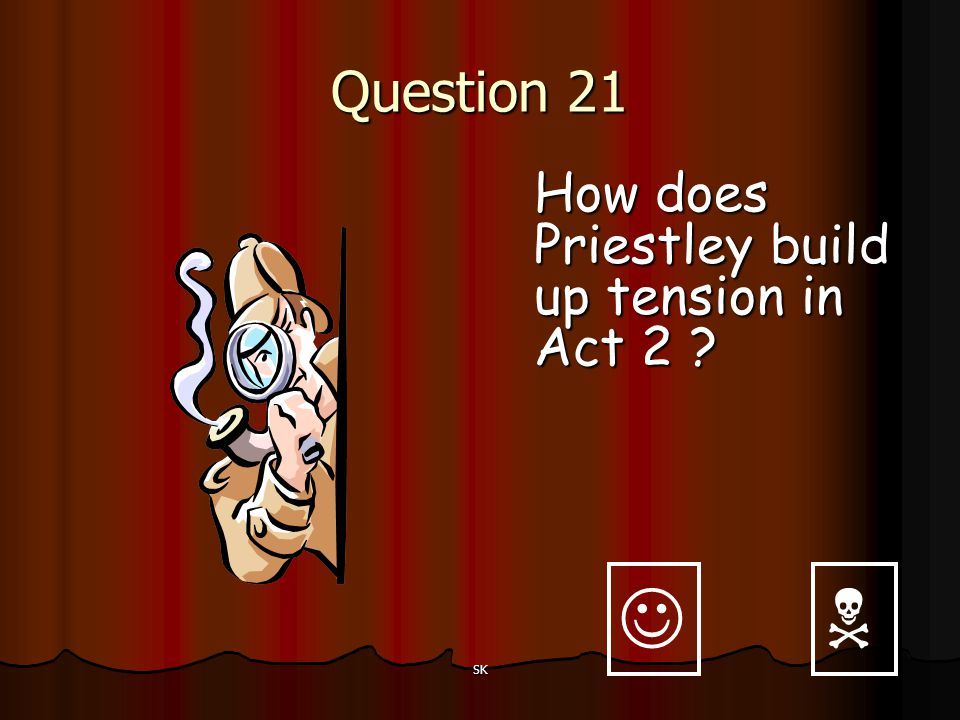 Question 21 How does Priestley build up tension in Act 2   SK