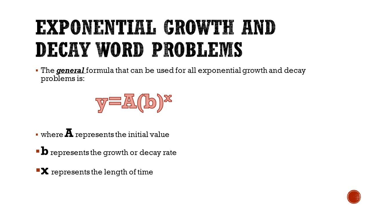 exponential relations - ppt download