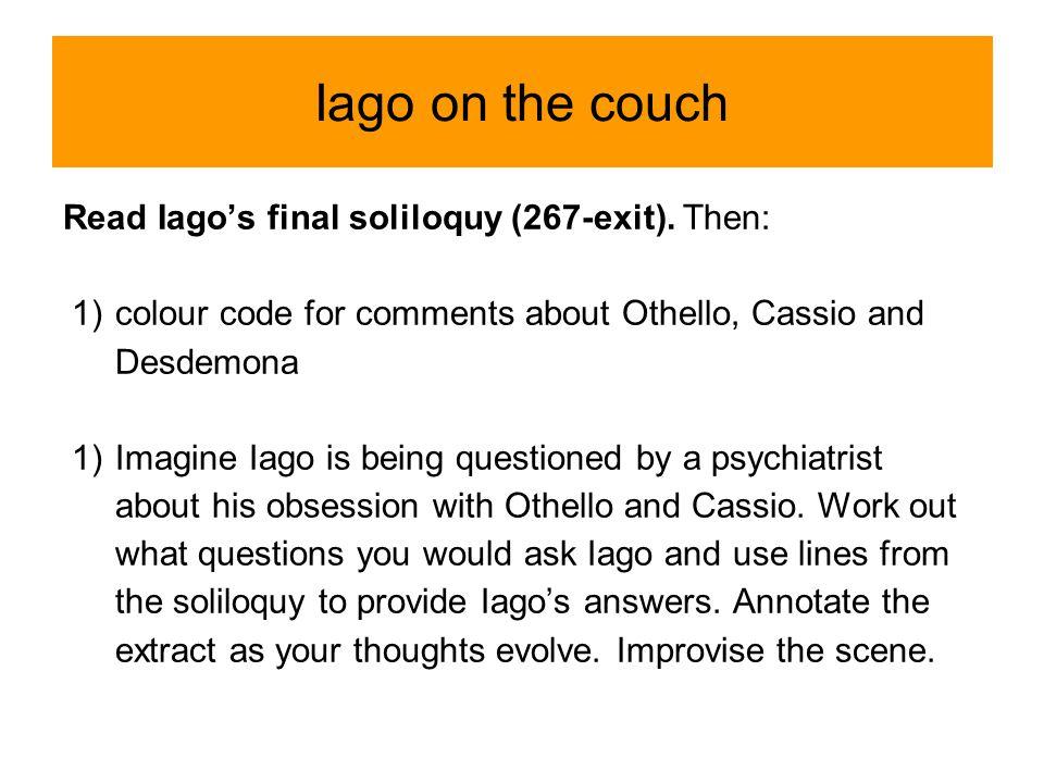othello and iago scene