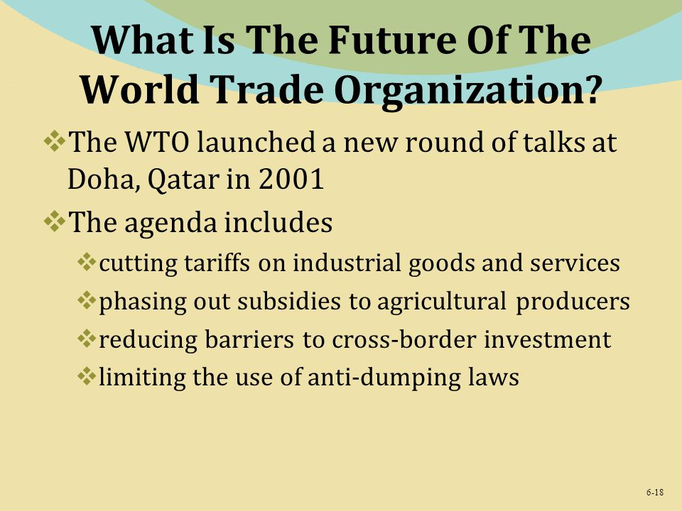 What Is The Future Of The World Trade Organization