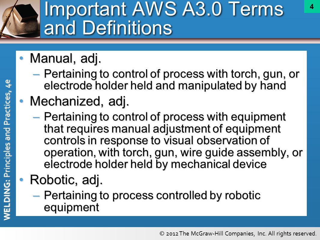 Automatic And Robotic Arc Welding Equipment Ppt Video Online Download Gun Diagram 4 Important